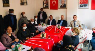 CHP, Uğurludağ'da Vatandaşı Dinledi