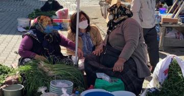 Köylü Kadınlara Başkanın Selamını İletti