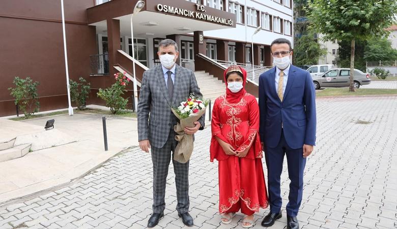Vali Çiftçi Osmancık'ta Esnaf Ziyareti Yaptı