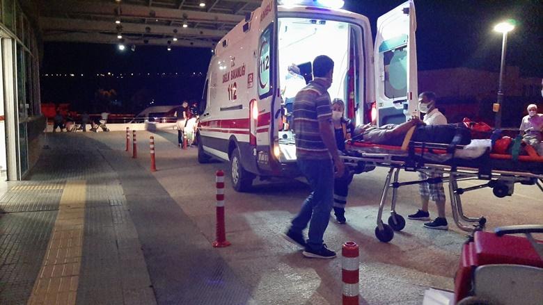 Çorum'da Trafik Kazası : 8 Yaralı