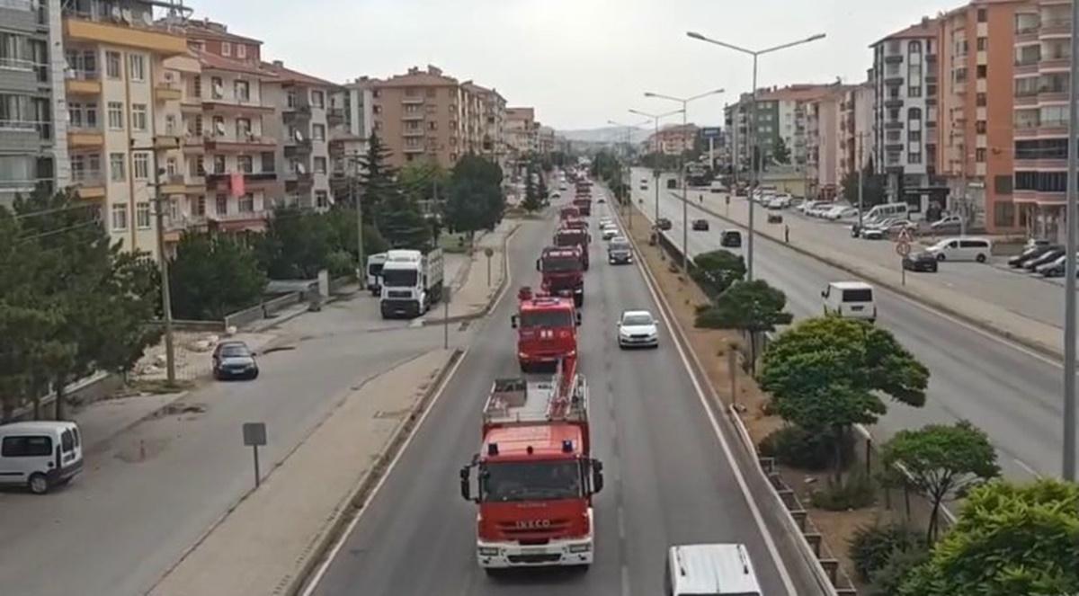 Azerbaycan'ın Türkiye'ye Desteği Sürüyor
