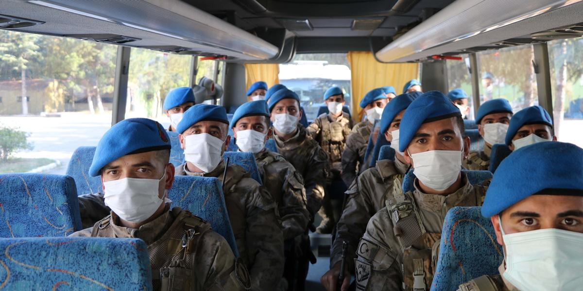 Komandolar Sinop'un Türkeli İlçesine Gönderildi