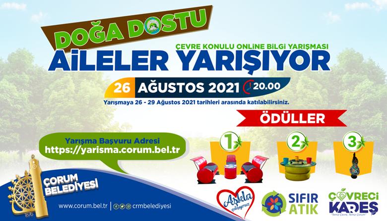 Belediyeden Online Bilgi Yarışması