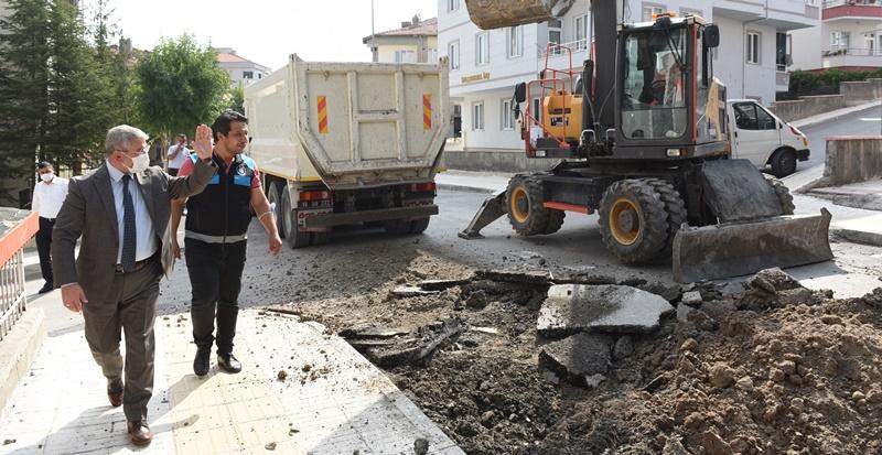 Beytepe 1.Cadde Yenileniyor