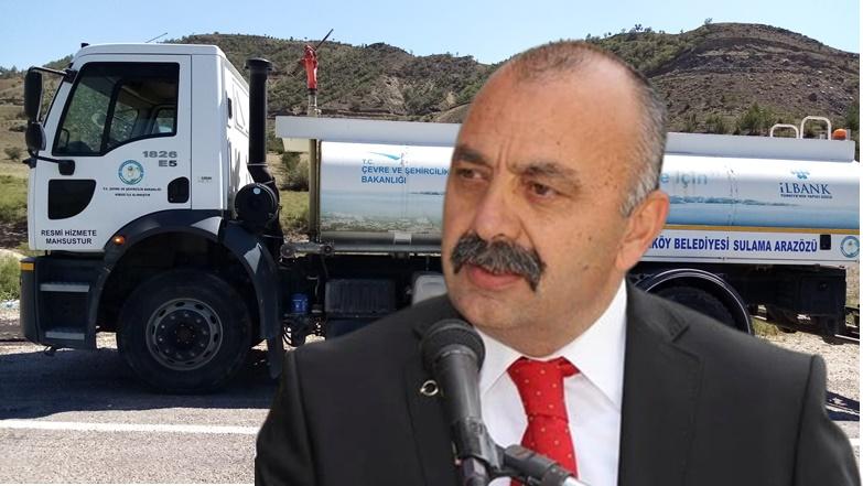 Ortaköy'den, Afet Bölgesine Araç ve Personel Desteği!