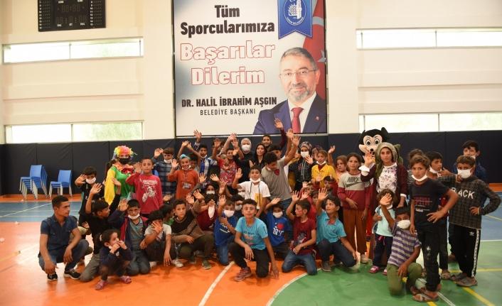 Başkan Aşgın Çocuklarla Birlikte Eğlendi