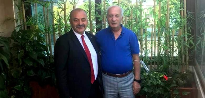 İsbir'den, Çorumlu Başkan Çelik'e Ziyareti
