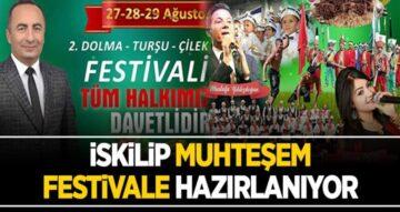 İskilip Muhteşem Festivale Hazırlanıyor
