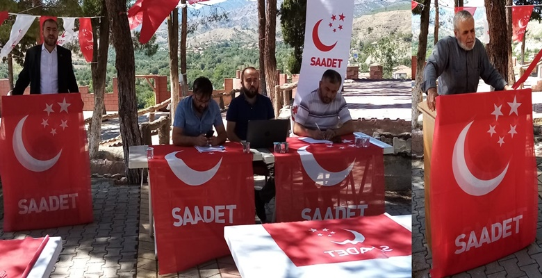 Saadet Partisi'nde Ahmet Kellerbağ Güven Tazeledi