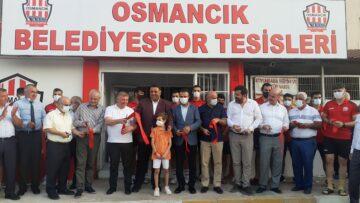 Osmancık'ta Belediyespor Sosyal Tesisleri Hizmete Açıldı