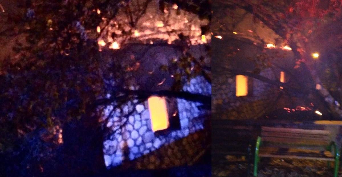 Sungurlu'da Köy Camisinde Yangın Çıktı