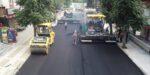 Şenyurt Caddesi'nde Asfalt Serimine Geçildi