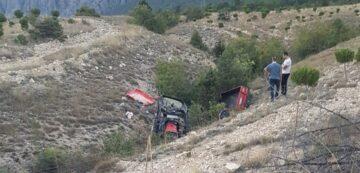 Çorum'da Traktör Devrildi: 2 Ölü