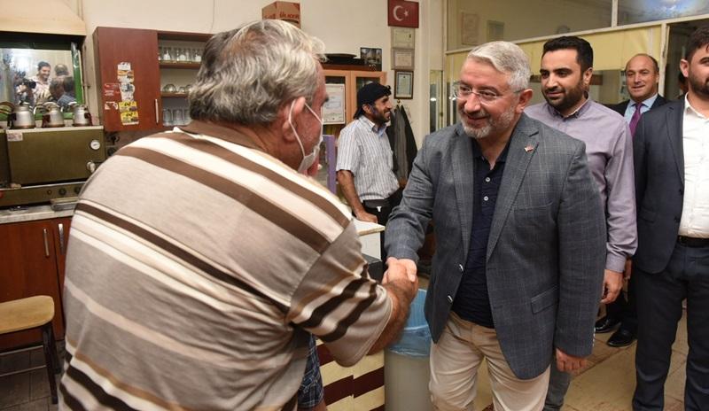 Başkan Aşgın'ın Esnaf Ziyaretleri Sürüyor