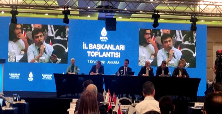 Vargeloğlu, İl Başkanları Toplantısına Katıldı