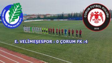 Çorum FK Gol Oldu Yağdı : 0-4