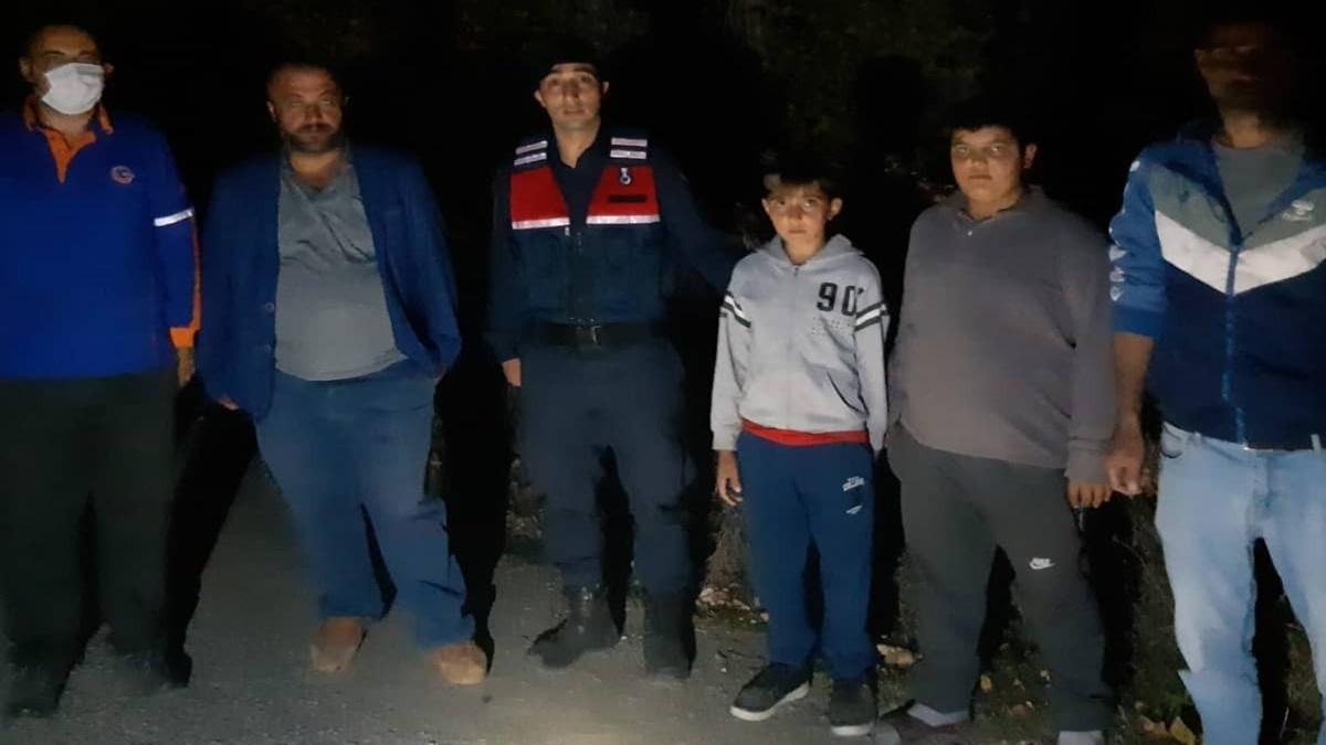 Kaybolan 2 Çocuğu Jandarma ve AFAD Buldu